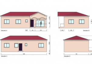 Akua 3Bed Bungalow Elevations